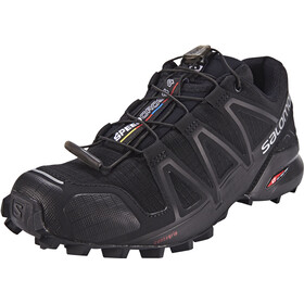 Salomon Speedcross 4 Shoes Dame black/black/black metallic